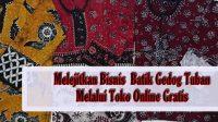 batik gedok tuban